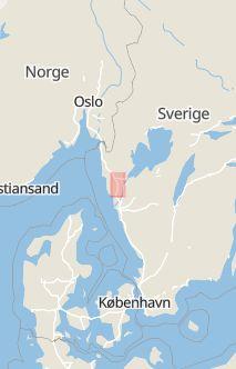 Trafikolycka, singel, Bil som krt av E6 vid Ljungskile